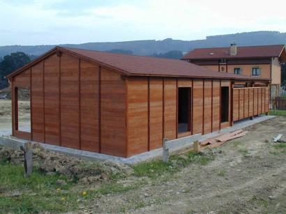Construcción de entramado ligero en madera